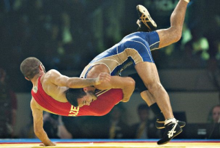 Greco-Roman-Wrestling